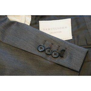 Samuelsohn Cordoba Gray Herringbone S130s jacket